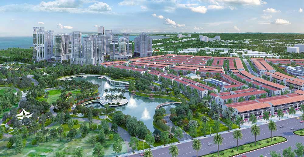 Tưng bừng nhận nền dự án Nhơn Hội New City
