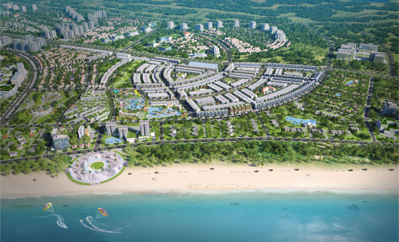 """Nhơn Hội New City – Giải """"cơn khát"""" đất nền ven biển"""