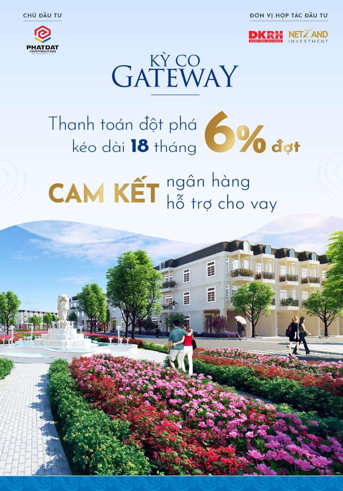 Giãn tiến độ thanh toán cho khách hàng dự án Kỳ Co Gateway lên đến 18 tháng